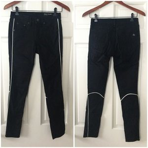 Rag & Bone For Intermix Black Skinny Jeans 26